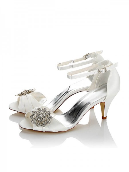 Cheap Satin Wedding Shoes SW05949428C1I